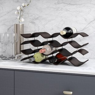 Wade Logan Wittmer 12 Bottle Tabletop Wine Rack