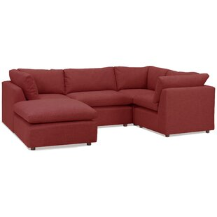 Harmony Modular Sectional With Ottoman by Tory Furniture Today Sale Only