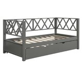 Coppola Twin Daybed with Trundle by Longshore Tides