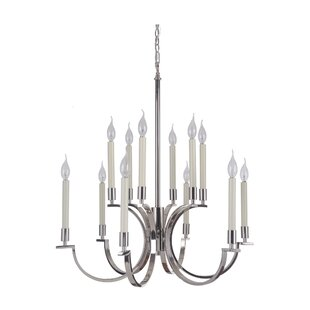 Darby Home Co Salford 12-Light Chandelier