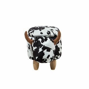 Fazeley Cow Storage Kids Ottoman by Harriet Bee