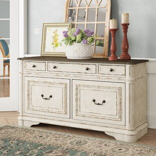 Read Reviews Renoncule Credenza Desk by Lark Manor