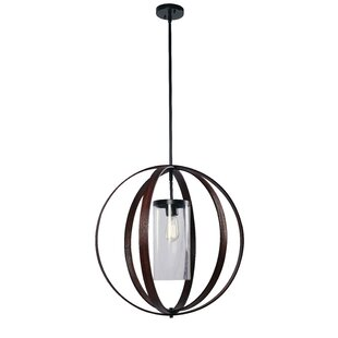 Quaniece 1-Light Pendant by Gracie Oaks