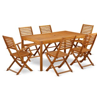 Raymundo 7 Piece Patio Dining Set by Long..