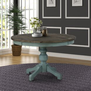 Cierra Two-Tone Dining Table by Ophelia & Co.