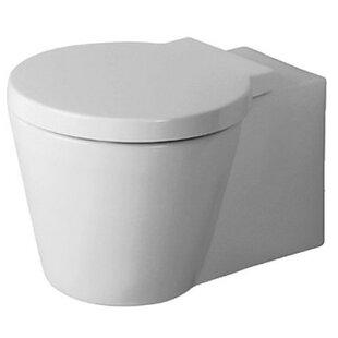 Duravit Starck Dual Flush Round Toilet Bowl