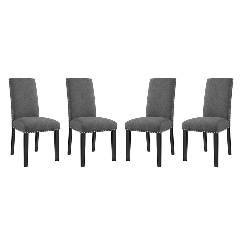 Alcott Hill Smallwood Upholstered Dining Chair (Set of 4)