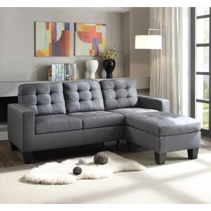 Earsom Reversible Sectional by A&J Homes Studio