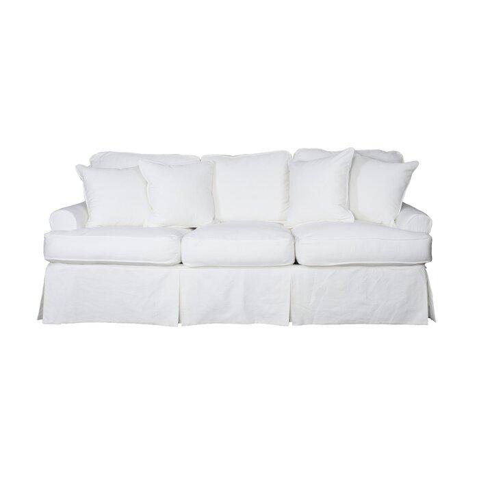 Coral Gables T-Cushion Sofa Slipcover