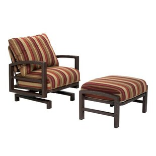 Lakeside Action Lounge Chair and Ottoman with Cushion