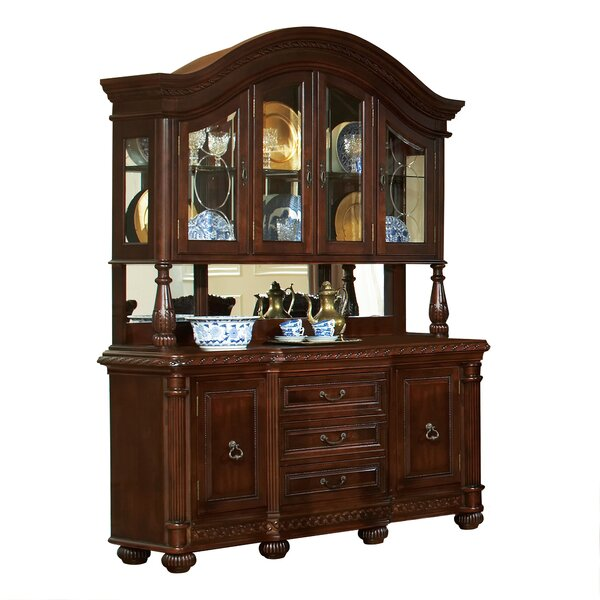 Pleasing Sideboard Buffet With Hutch Wayfair Home Remodeling Inspirations Basidirectenergyitoicom