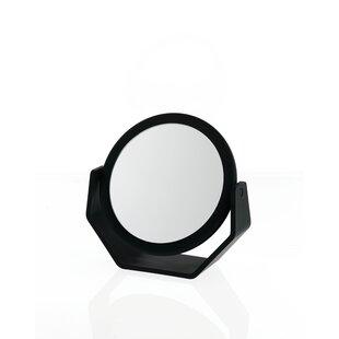 Danielle Creations Midnight Matte Round Vanity Mirror