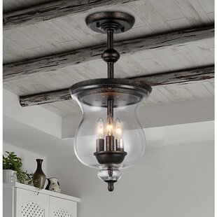 Charlton Home Cordle 3-Light Urn Pendant