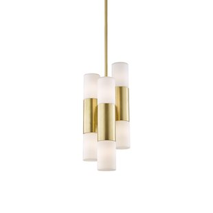 Brayden Studio Tamay 6-Light Sputnik Chandelier
