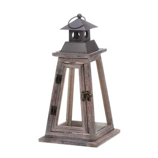 Zingz & Thingz Elevate Wood Lantern