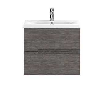 Maddalena 605mm Wall Mount Vanity Unit By Zipcode Design