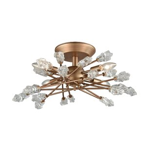 Smythe 4-Light Semi Flush Mount by Corrigan Studio