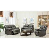 Shreyas 3 Piece Reclining Living Room Set by Red Barrel Studio®