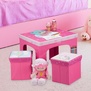 Lapis 3 Piece Children's Dining Set By Zoomie Kids