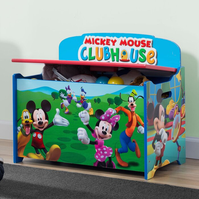 Delta Children Deluxe Mickey Mouse Toy Storage Bench Reviews