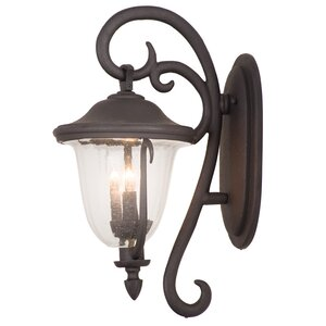 Santa Barbara 2-Light Outdoor Wall Lantern