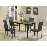 Alenka 5 Piece Counter Height Dining Set by Red Barrel Studio®