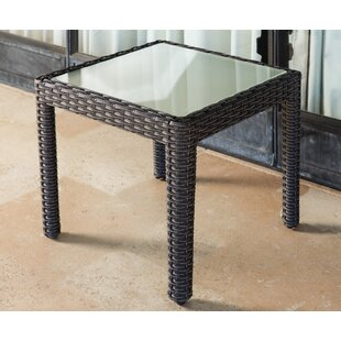 Koger Wicker Side Table