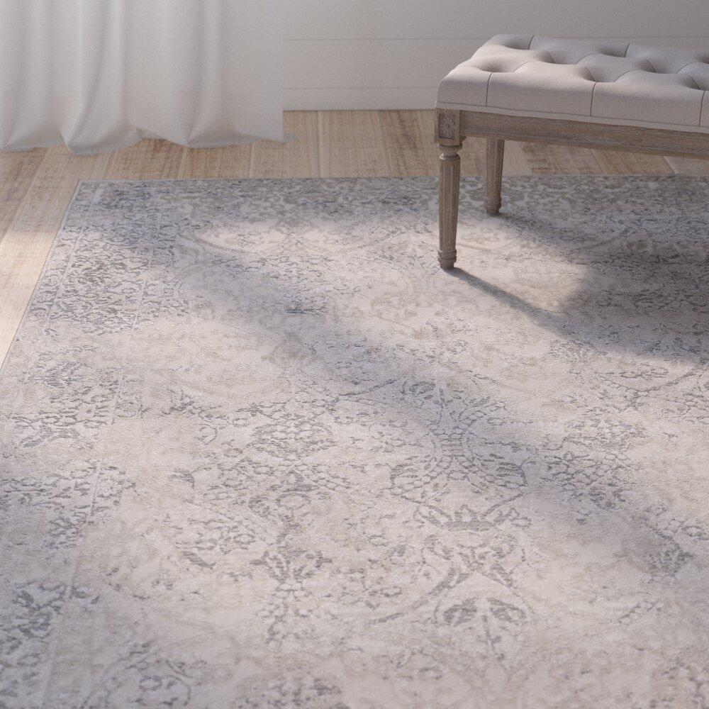 Ophelia Co Donatella Abstract Gray Area Rug Reviews Wayfair