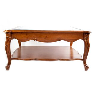 The Silver Teak Coffee Table