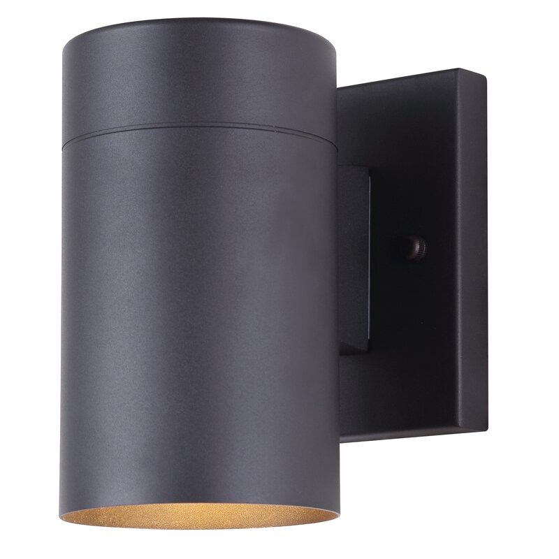 16 Enchanting Modern Entrance Designs That Boost The: Cano 1-Light Outdoor Sconce & Reviews
