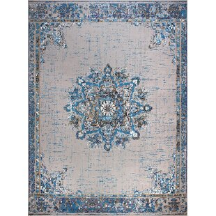 Schnell Blue/Gray Indoor/Outdoor Area Rug