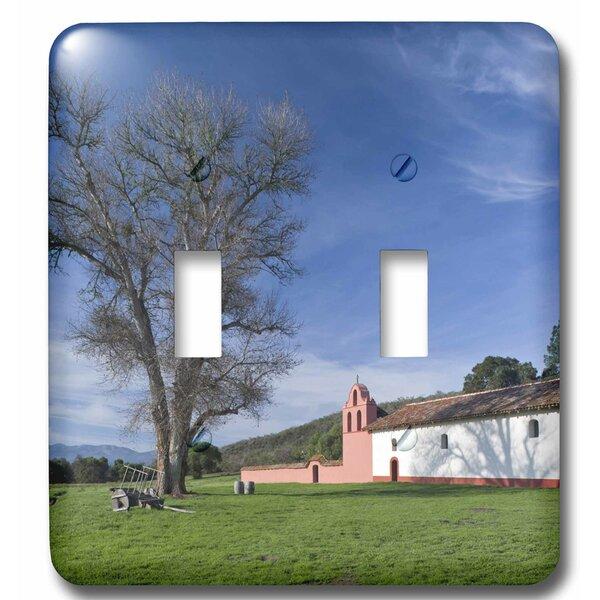 3drose Ca Lompoc La Purisima Historic Mission Park 2 Gang Toggle Light Switch Wall Plate Wayfair