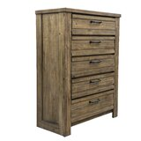 Hassler 5 Drawer Chest by Gracie Oaks