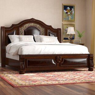 Astoria Grand Barrus Upholstered Sleigh Bed