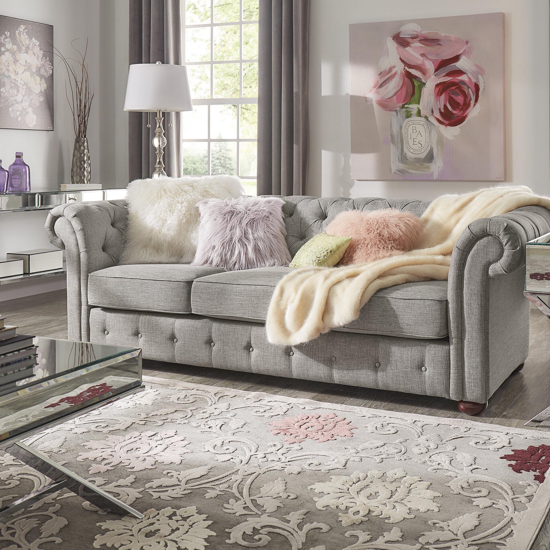 Willa Arlo Interiors Vegard Tufted Chesterfield Sofa U0026 Reviews | Wayfair