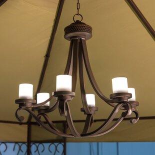 Red Barrel Studio Dewald 6-Light Candle Style Chandelier