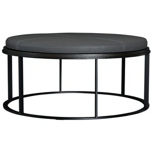 Perfect Cranford Upholstered Flip Top Round Coffee Table