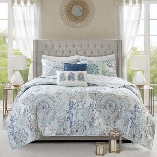 Kinsley 6 Piece Reversible Coverlet Set