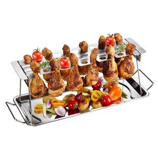 Large Chicken Leg Grill Rack By Gefu
