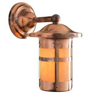 Milo Charming Fixed Arm LED Outdoor Wall Lantern