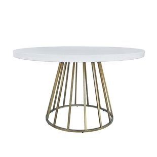 Woodville Concrete Dining Table Everly Quinn