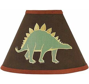 Affordable Dinosaur Land 10 Faux leather Empire Lamp Shade By Sweet Jojo Designs
