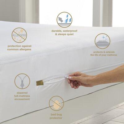 Alwyn Home Speer Hypoallergenic Waterproof Mattress Cover