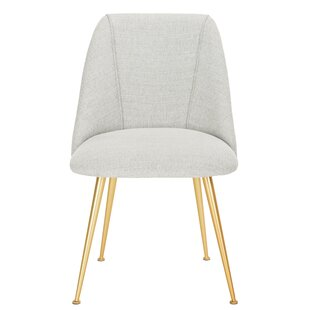 Darrius Linen Blend Upholstered Side Chair
