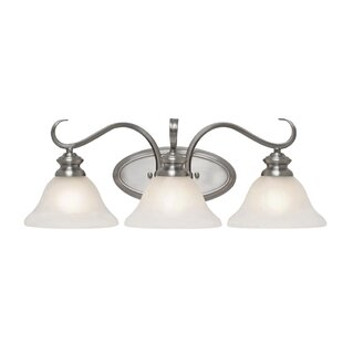 Great choice Newson Traditional 3-Light Vanity Light By Red Barrel Studio
