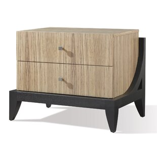 Bonita 2 Drawer Nightstand by Allan Copley Designs No Copoun