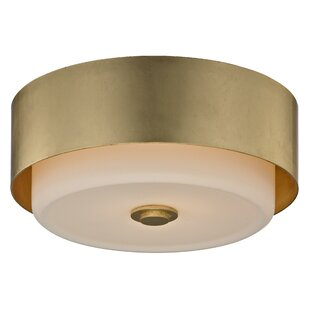 Red Barrel Studio Brynie 2-Light Flush Mount