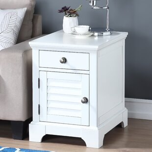 Elma End Table with Storage by Highland Dunes