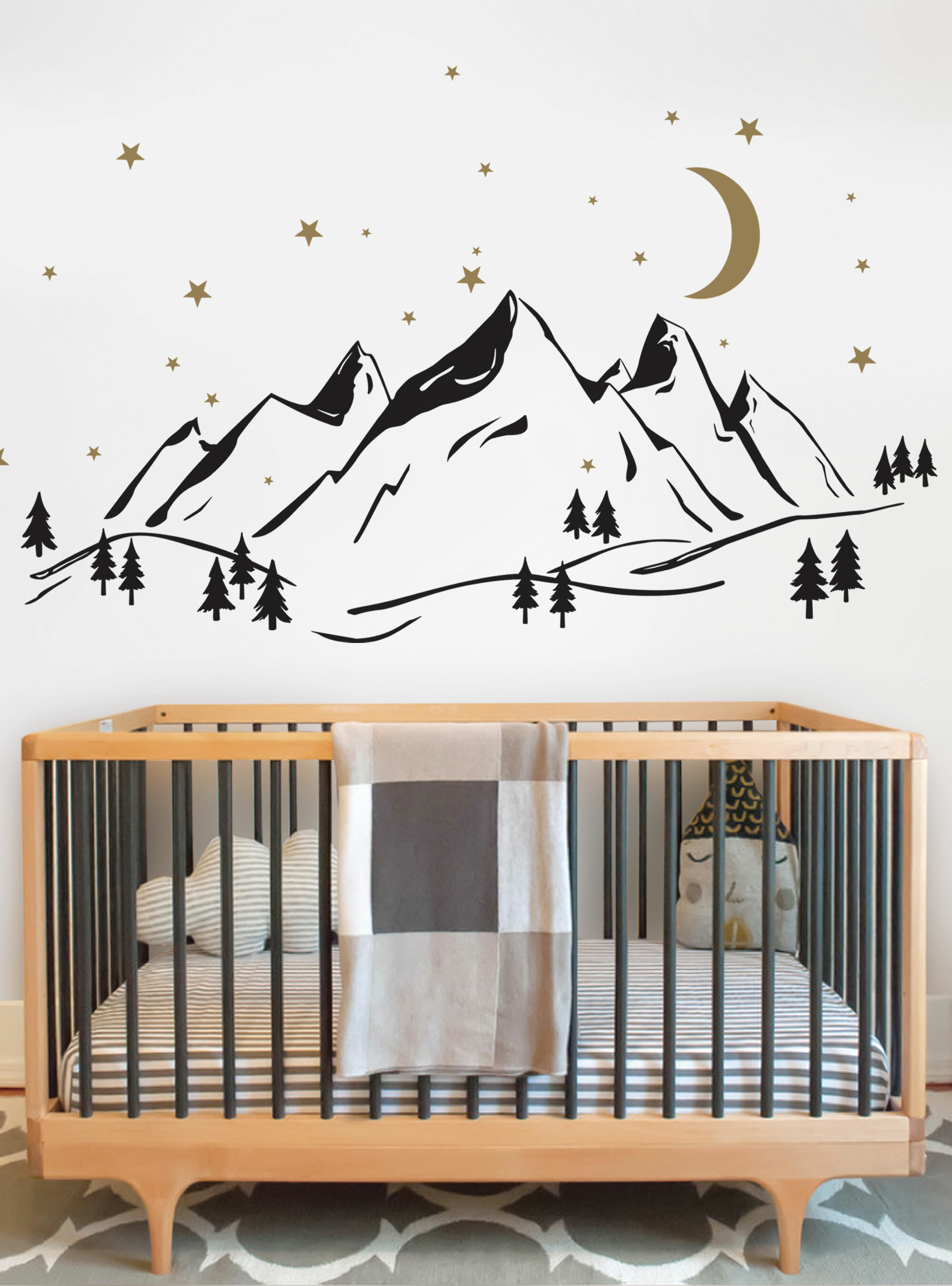 Harriet Bee Mountain Wall Decal Wayfair Ca