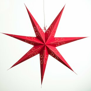 Hometown Evolution, Inc. Fountain Paper Star Light